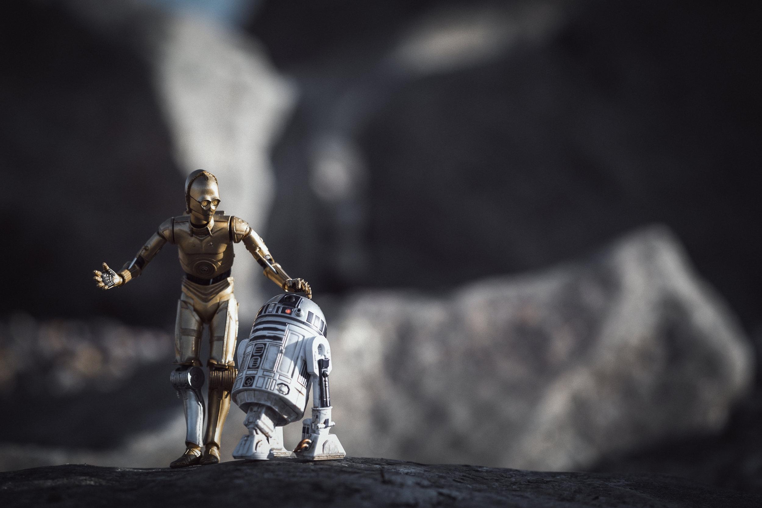 """""""Please Artoo, no more adventures..."""""""