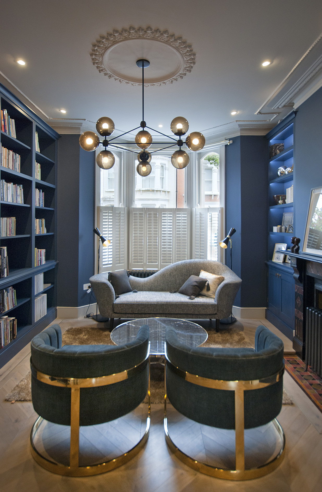 Contemporary interior design studio in London