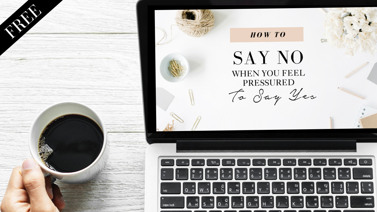 I don't think so - Feeling pressured to make wedding decisions that don't really feel like you?Take this free class about the Art of Saying No and learn how to apply this timeless skill to your wedding planning, and your life.