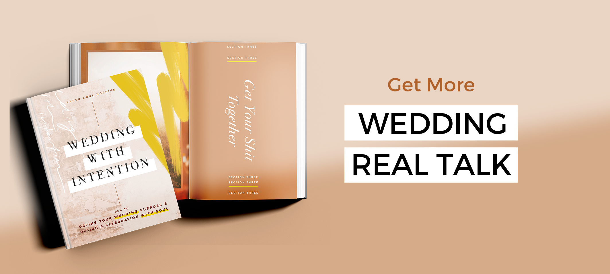 Ready for a new approach? - I think it's time that weddings got a shake-up, don't you?