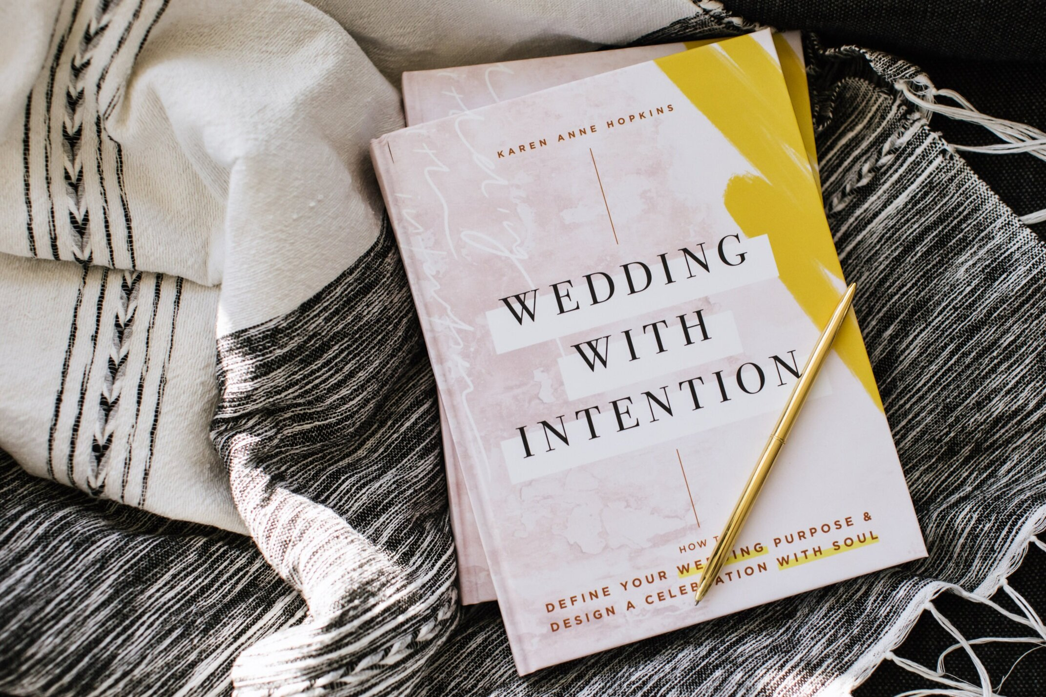 wedding planning book - wedding with intention