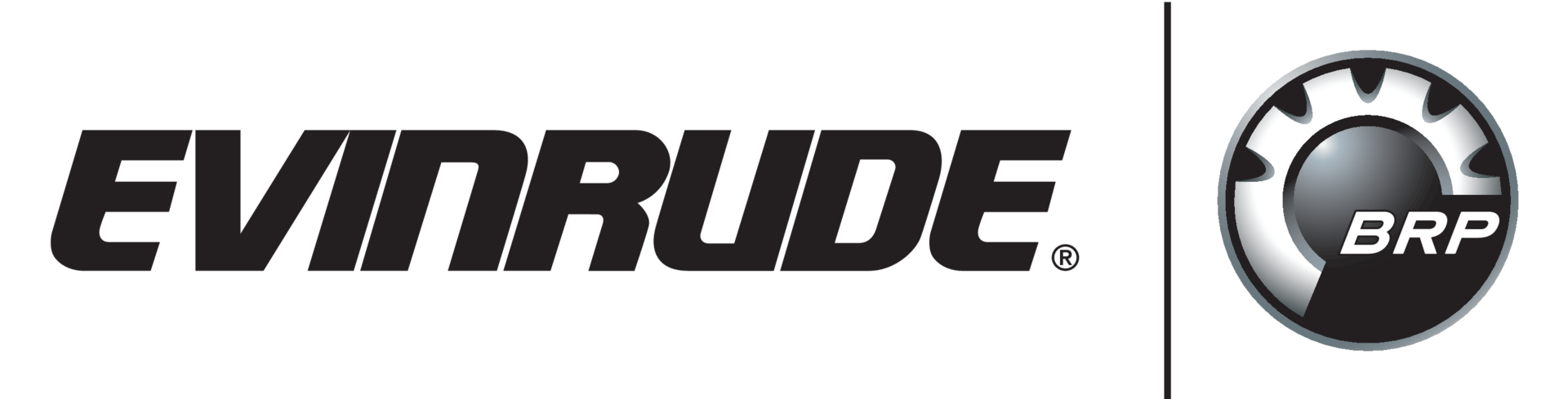 Evinrude and BRP Motor Logo