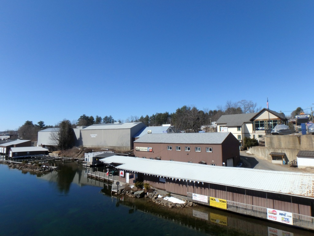 Thurston's Marina on Lake Winnipesaukee