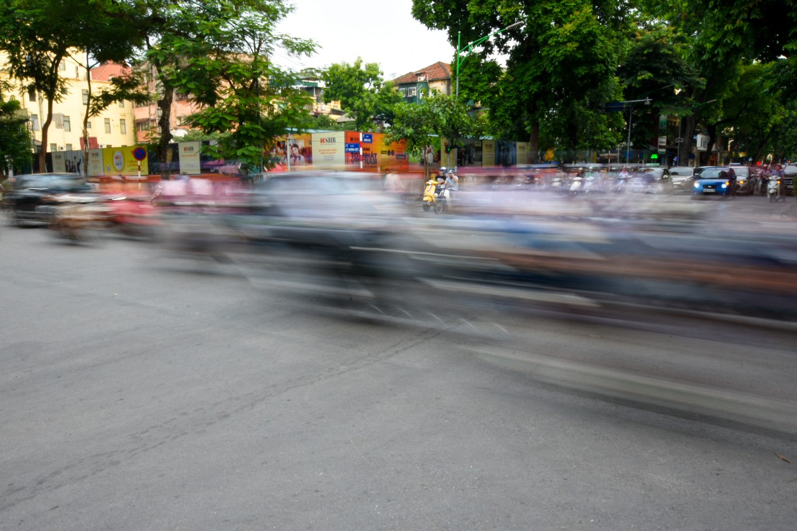 A mere 2 seconds of Hanoi traffic