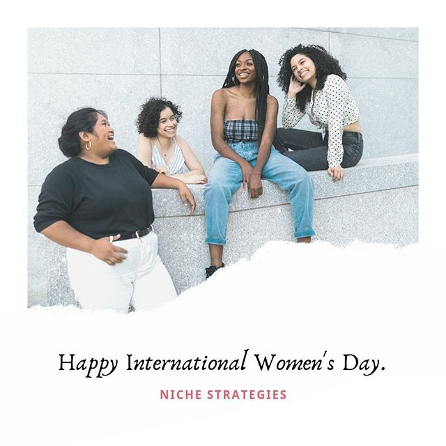 Happy International Women's Day! #IWD2019