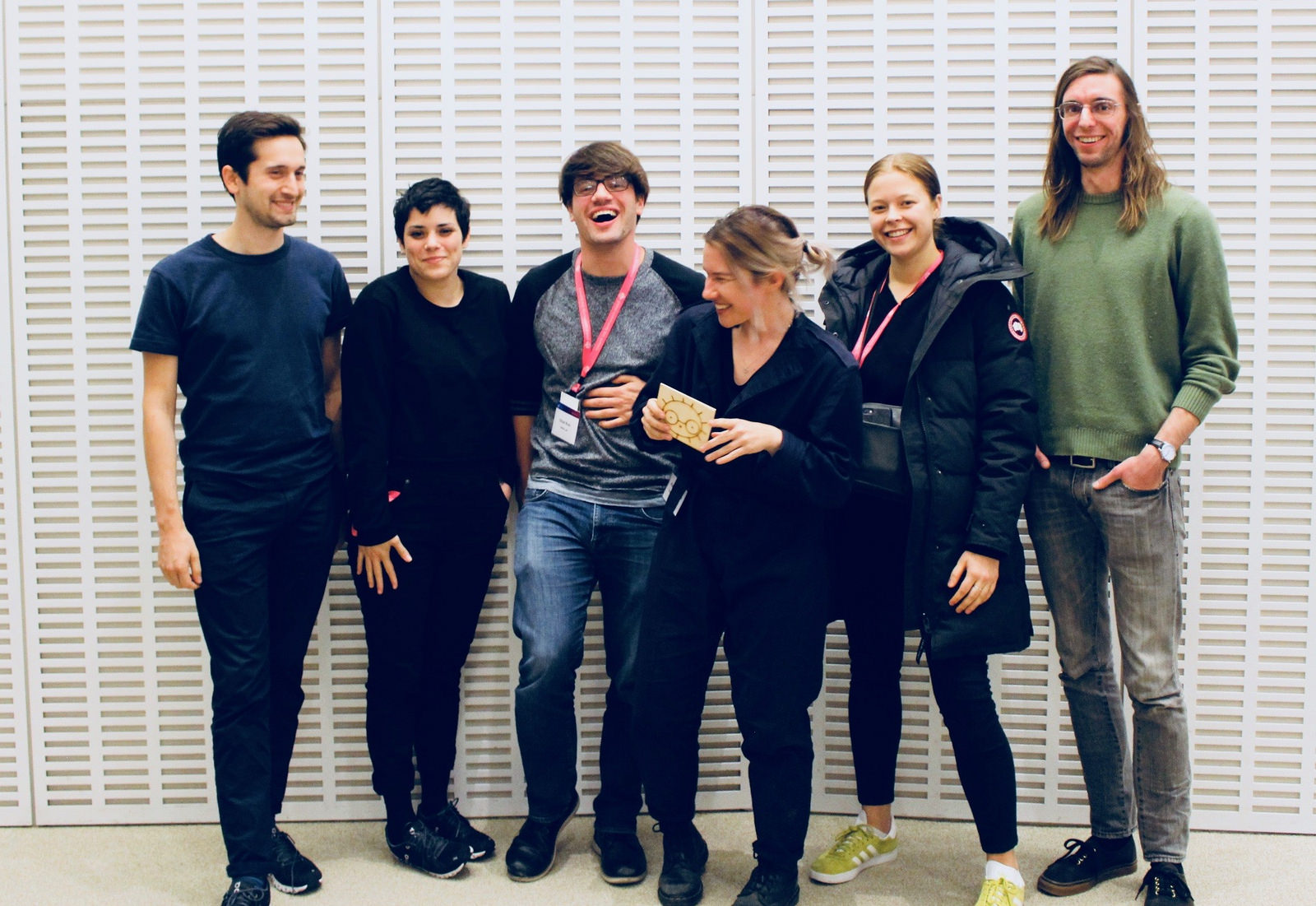 Me (centre holding MEEBS - our favourite amoeba pal, and a bunch of amazing people from the MIT Global Community BioSummit. Recognize anyone?? :)