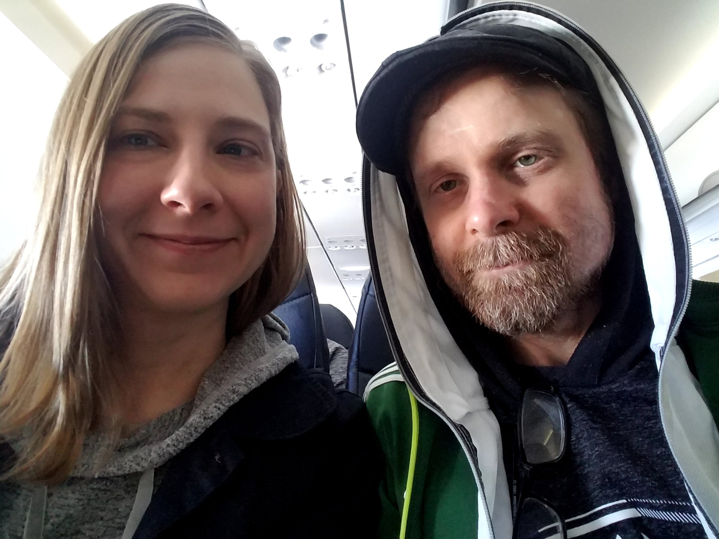 - If you notice the couple taking a selfie before take off, you may roll your eyes and assume it's their generation's obsession with self-promotion and addiction to Facebook and Instagram.Yes, and...this couple's selfies are often taken at the hospital or clinic and on this one day, they are taking advantage of having a photo background like those of their peers.