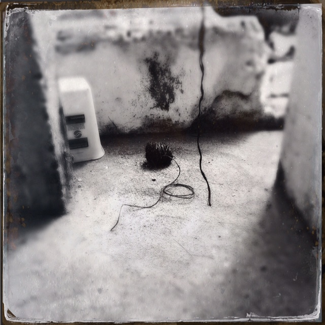 Soul Mate Thread | found near the bell | graveyard at San Antonio Aguas Caliente, Guatemala | November 2014