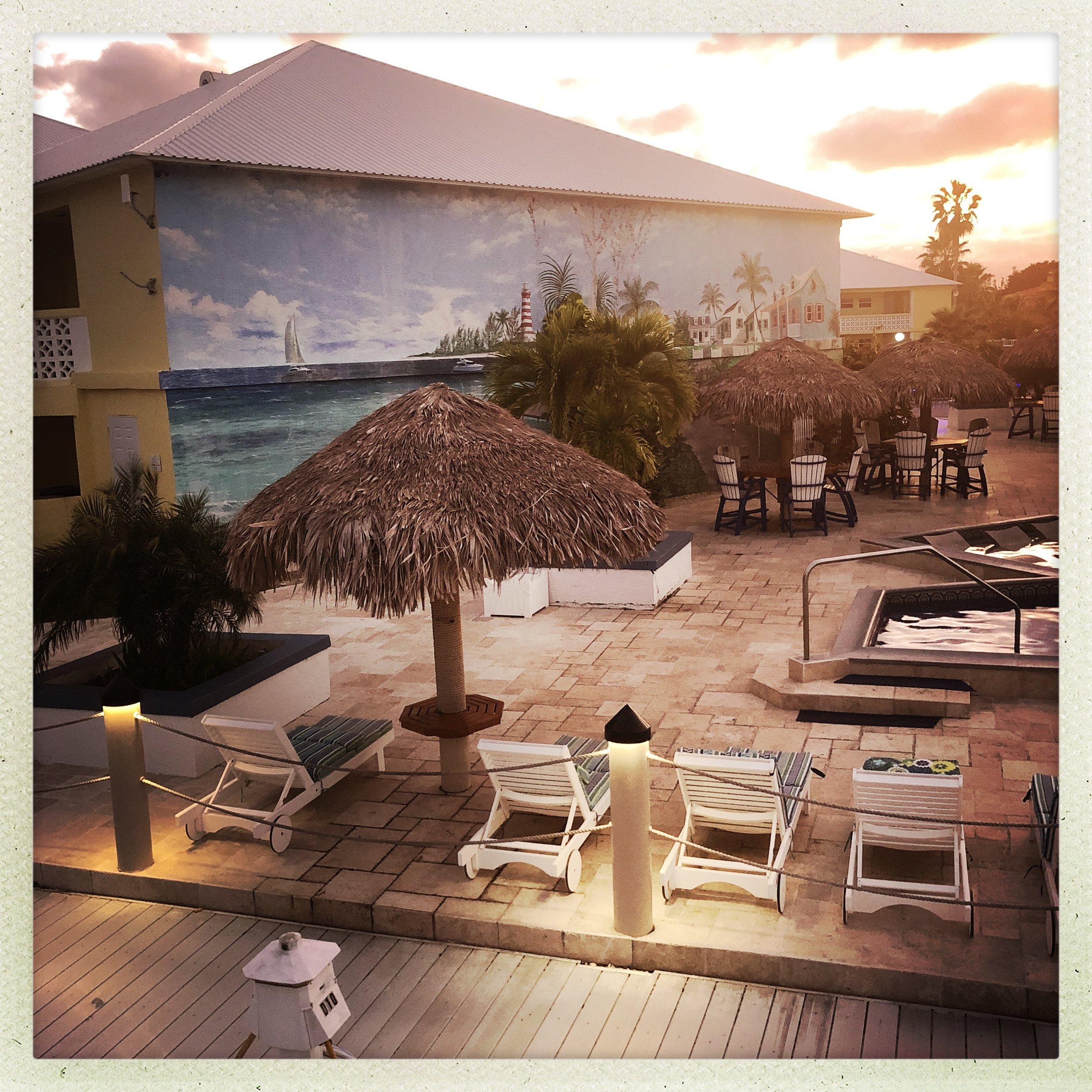 Sunsnet views at Ocean Reef Yacht Club & Resort on Grand Bahama Island