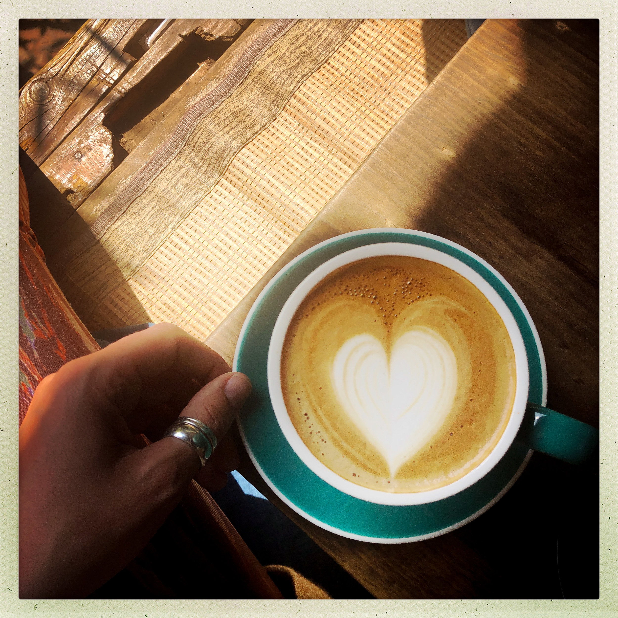 Heart Filled Goodness in the Form of A Mocha // Afternoon Coffee