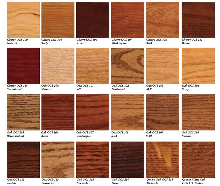 Wood Stain Color Match Bill Wright S