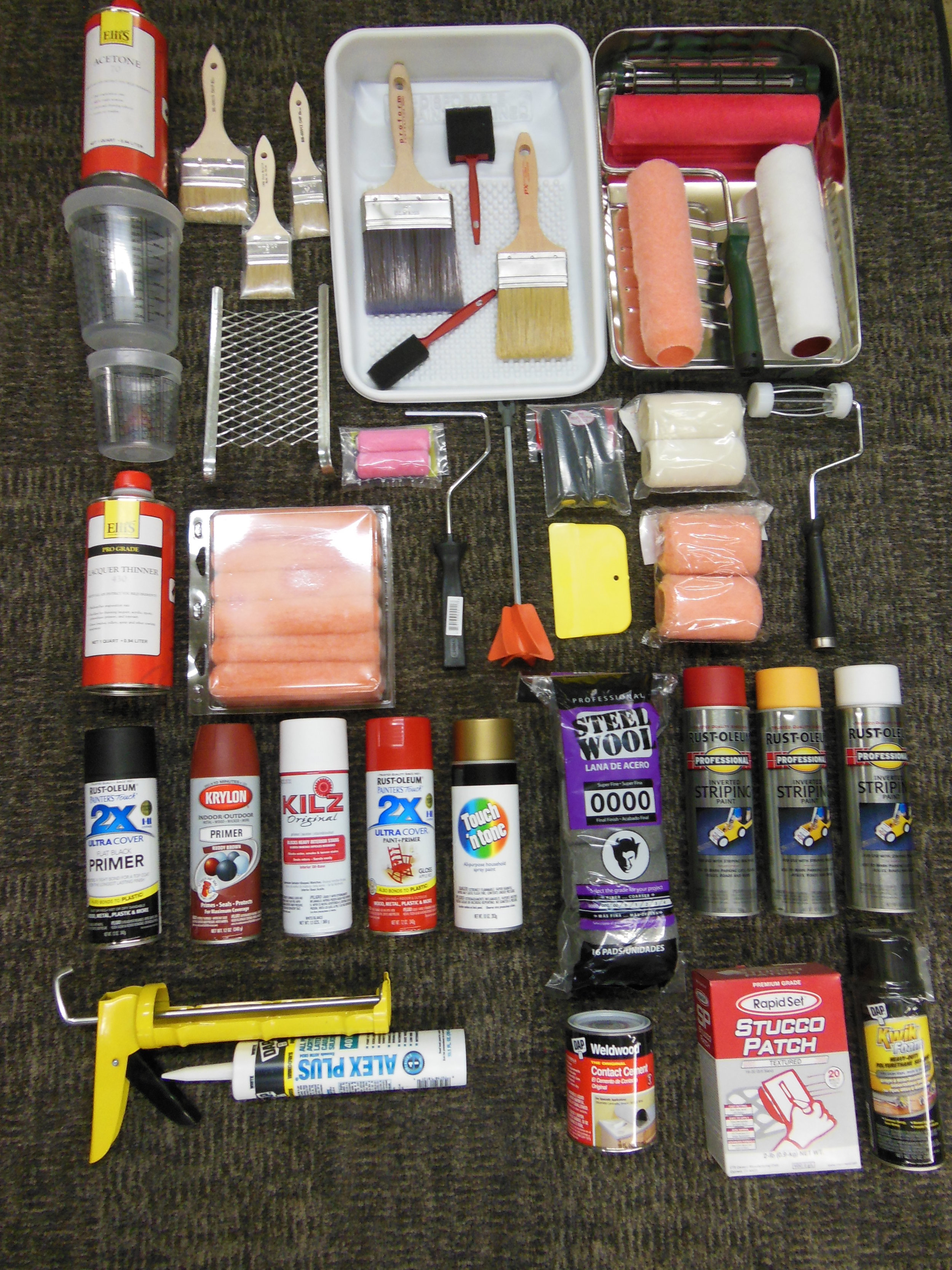 PAINT SUNDRIES AVAILABLE HERE