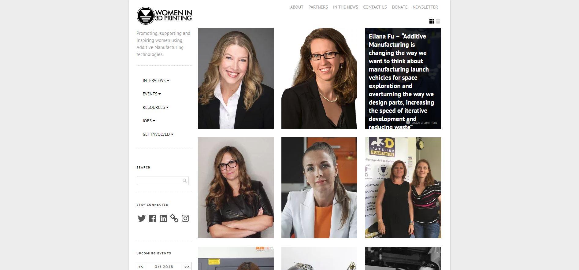 Women in 3D Printing Website.JPG
