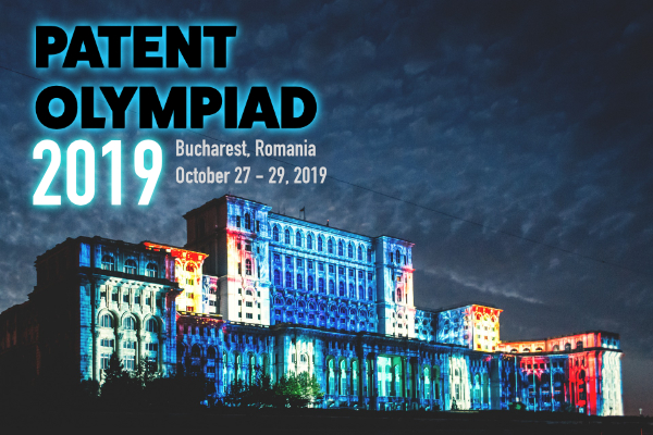 Join us October 27-29, 2019 for Patent Olympiad 2019 - just before EPOPIC 2019!