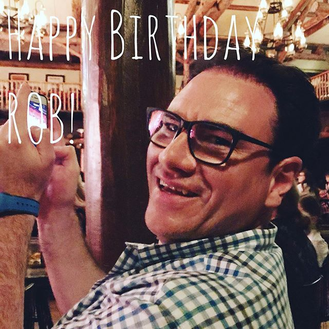 Today is Co-Host Rob's birthday! Pls join us in wishing him an amazing birthday today!