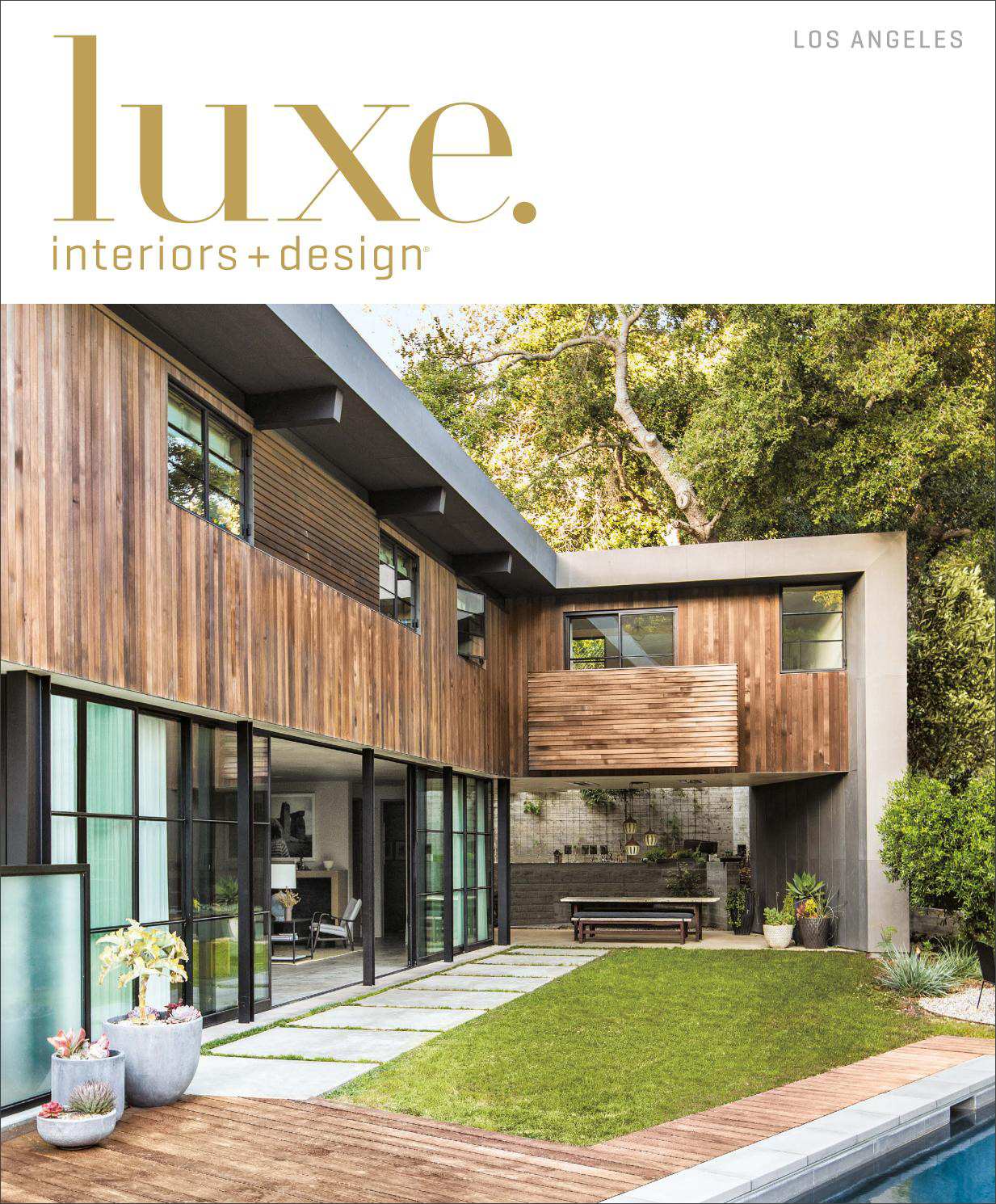 Nature Made - Nestled in an idyllic canyon, a contemporary Los AngelesHome is of a piece with its verdant surroundings.Written by Laura MaukPhotography by Laure JolietLuxe Interiors + Designluxesource.com | July-August 2016read more»