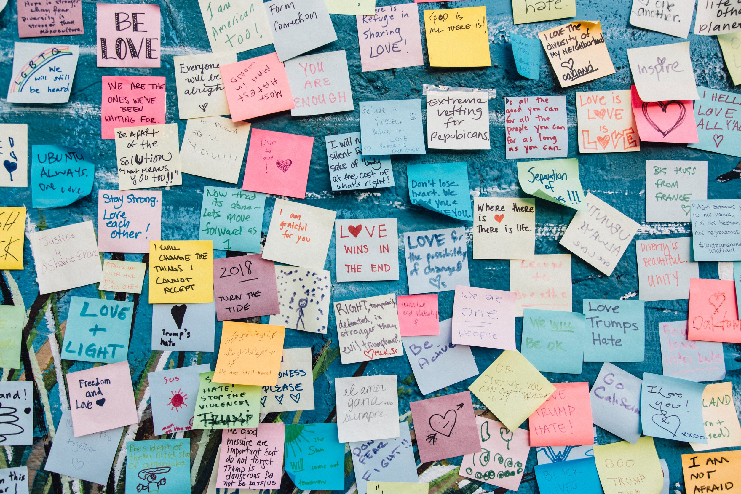 Love Notes Blog Post Post-its