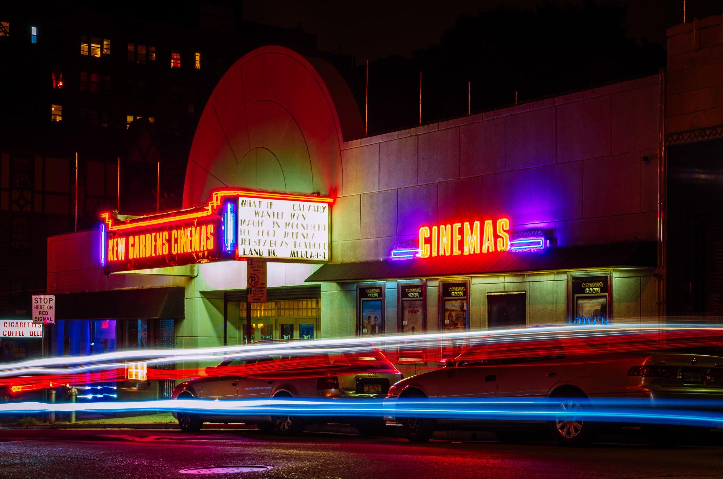 Date Night Ideas  Vintage Cinema Neon