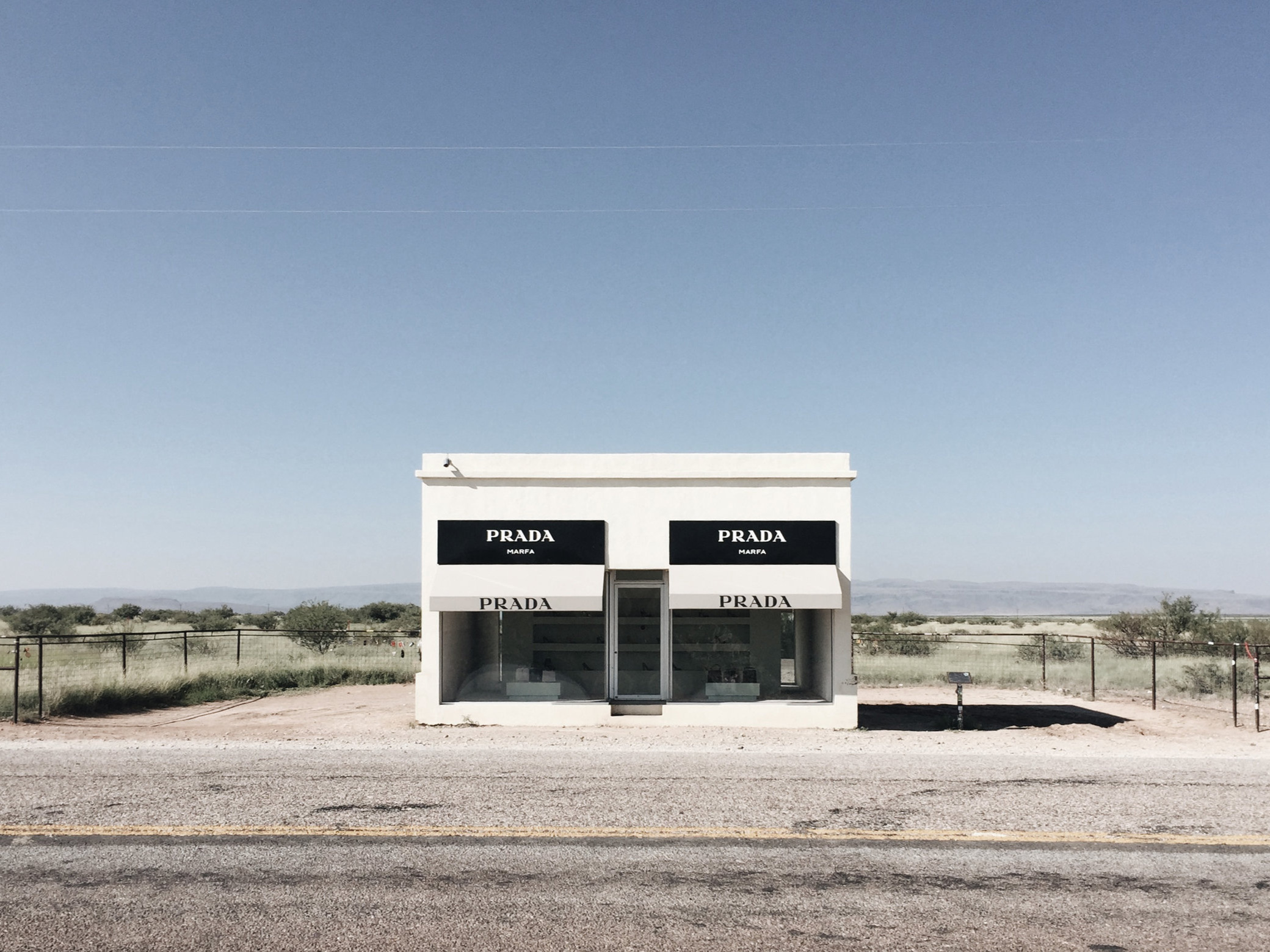 Marfa Prada Texas instillation art