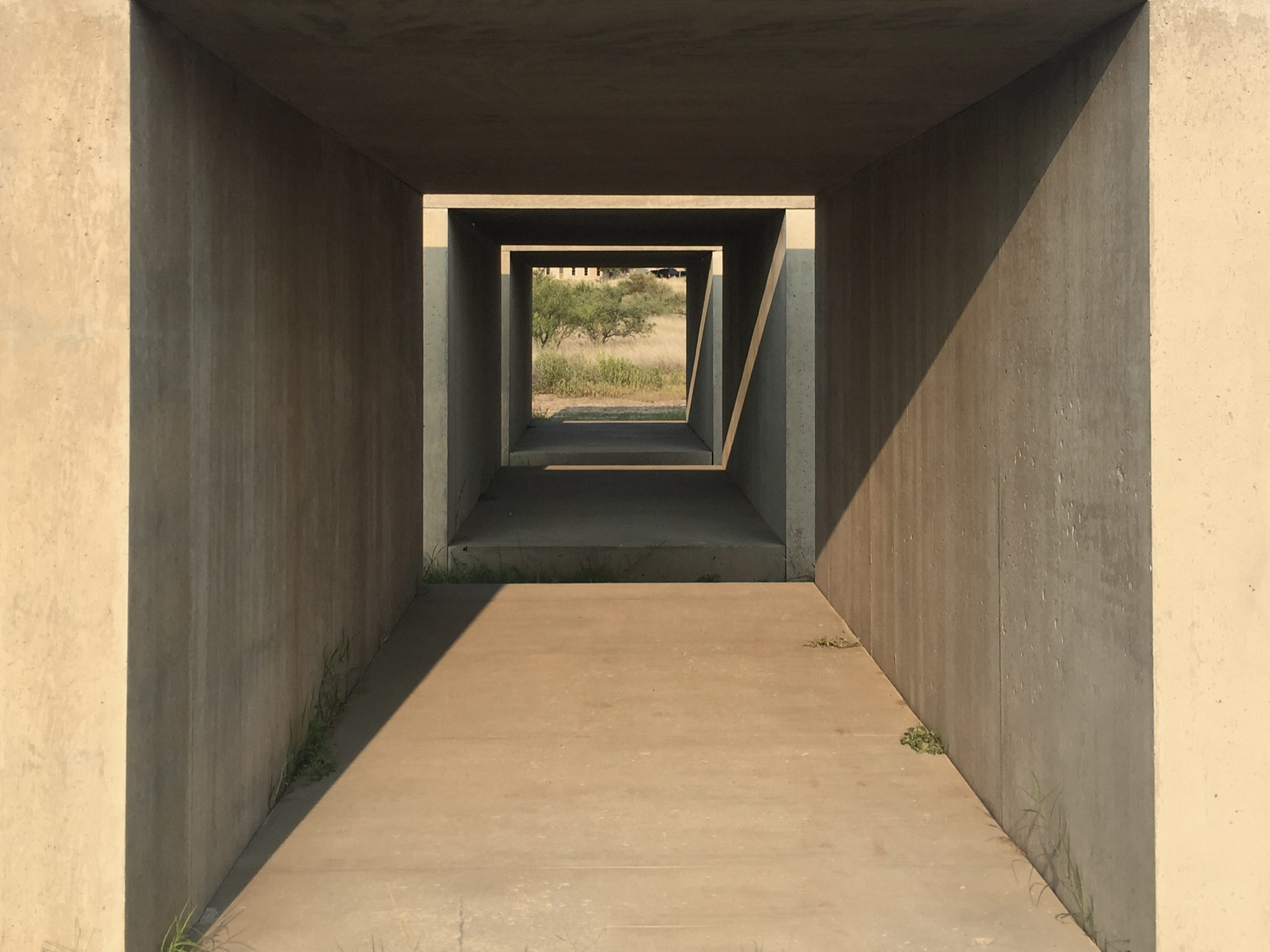 Donald Judd Marfa Texas Concrete Art