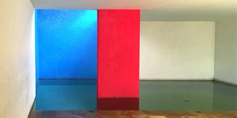 barragan-pool-room_header-1-768x384.jpgHis use of light and reflection guides how we see colour in his buildings. Whether from the minimalist, paired back interiors opening up to courtyards plastered in brights that shock the eyes or in the use of water to reflect and refract colour. The tones and shades chosen move the eye of the observer around the space, with clean lines and solid walls opening up to the sky. This combination of serene gardens and bright block colours earned him accolades such as the Pritzker Prize in 1980, the Jalisco Award in 1985 and just before his death he received Mexico's National Architecture Award in 1987.