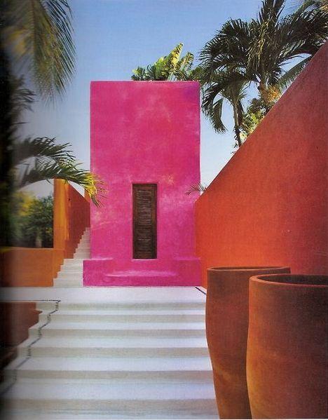 Luis Barragn Architecture Colour Inspiration