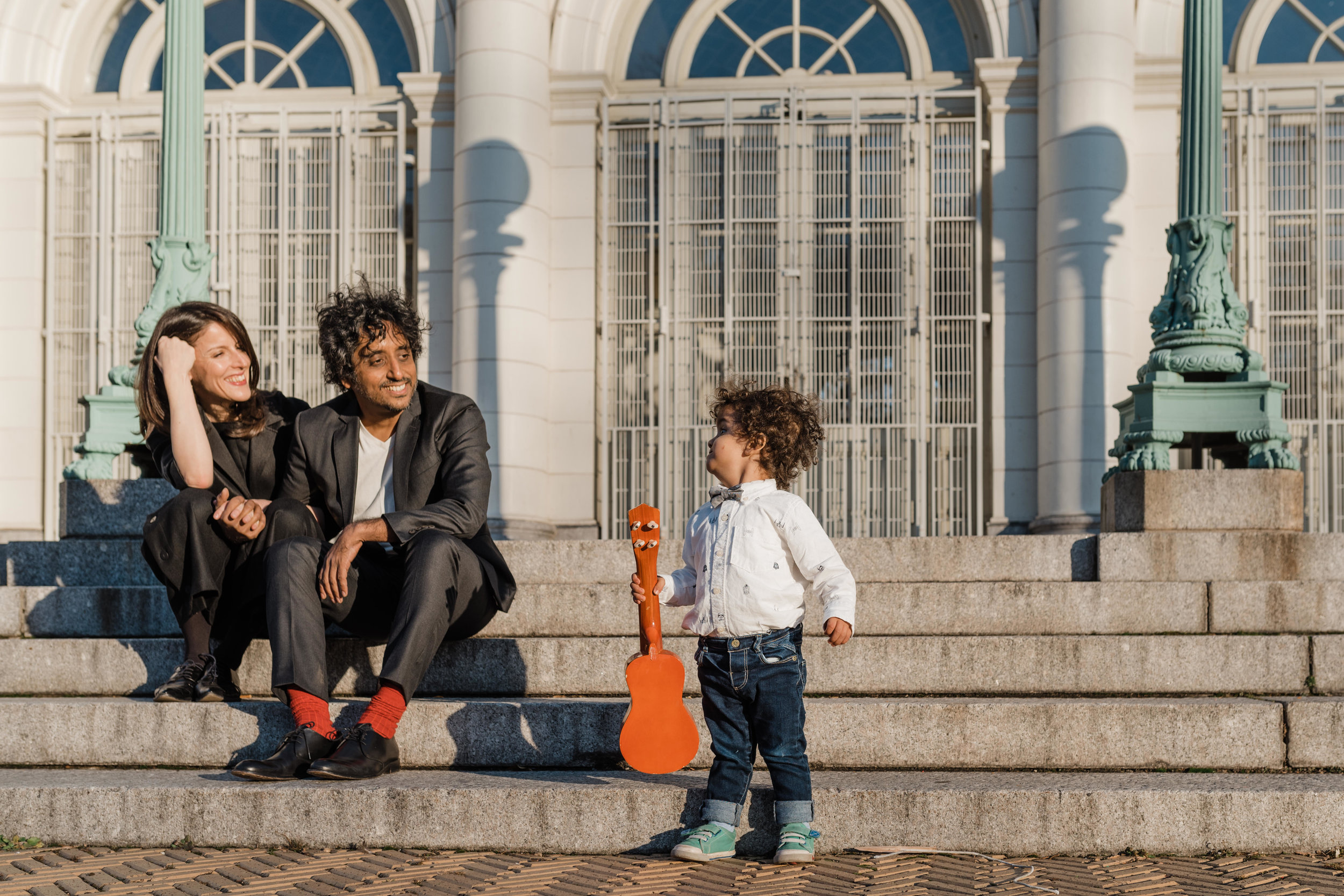Family lifestyle session at Prospect Park in Brooklyn, New York