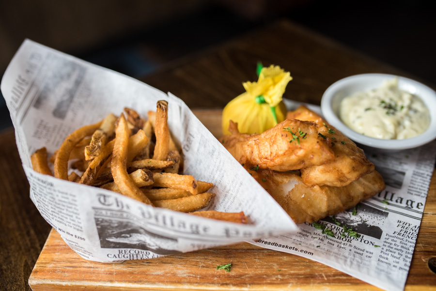 One of the best fish and chips in Manhattan