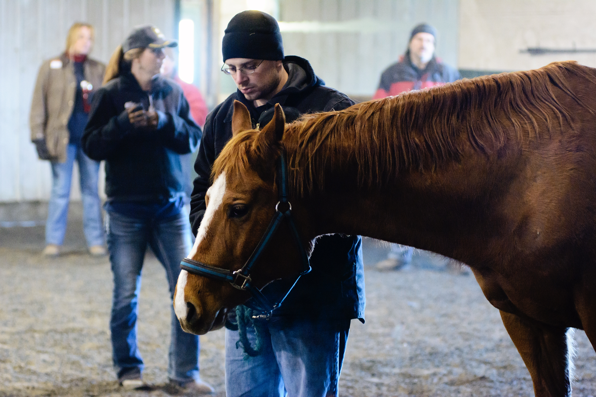 About EAP - Equine Assisted Psychotherapy (EAP) incorporates horses experientially and used as tools for mental and behavioral health therapy and personal growth. Because it is experiential in nature, each person who goes thru the program takes away something different.Why horses? While they are large and sometimes intimidating creatures, they are inherently honest and offer a pure, non-judgmental relationship. Their feedback is immediate and accurate. They offer the participant a mirror into themselves and the opportunity to reflect, learn and grow through the interaction with the horses. Horses are forgiving and accept you for who you are regardless of your background.