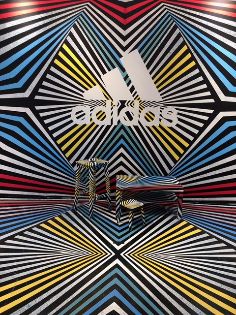 Adidas x Finish Line - Immersive in store installation