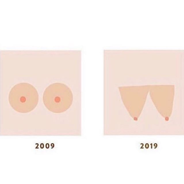Pretty much sums up my breastfeeding journey. How 'bout yours? ( . ) ( . ) #10yearchallenge / / @violetacorderosa • • • #normalizebreastfeeding #motherhood #unitedinmomhood #breastfeeding #breastfeed #motherhoodrising