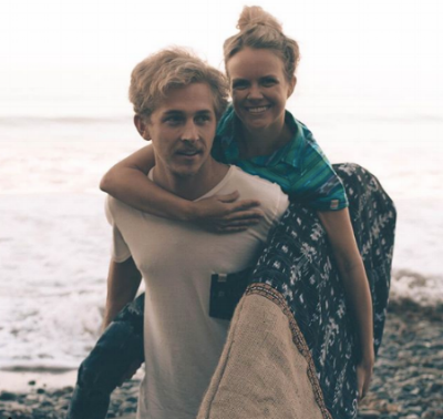 Brian and Emily. Founders of Aloha For People.