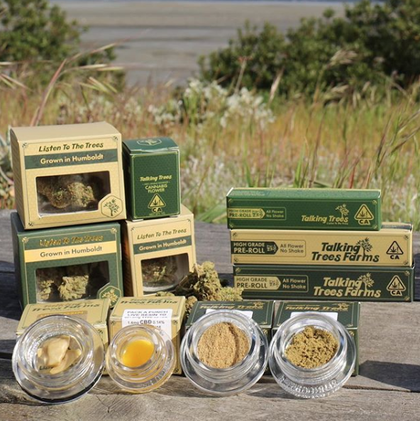 Talking Trees Farms - Buy a Talking Trees Farms eighth or gram of hash and get a pre-roll for 1.00!*