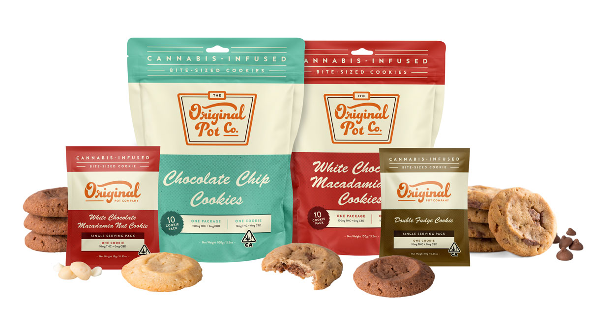 Buy one get one for a dollar! - Applies only to Original Pot Co. Cookie packs.