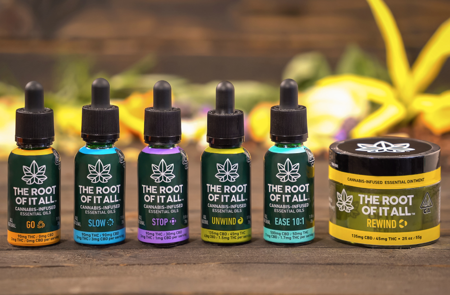 """The Root of it All - Buy one of their tinctures or balms and get a """"Go"""" tincture for $5!"""