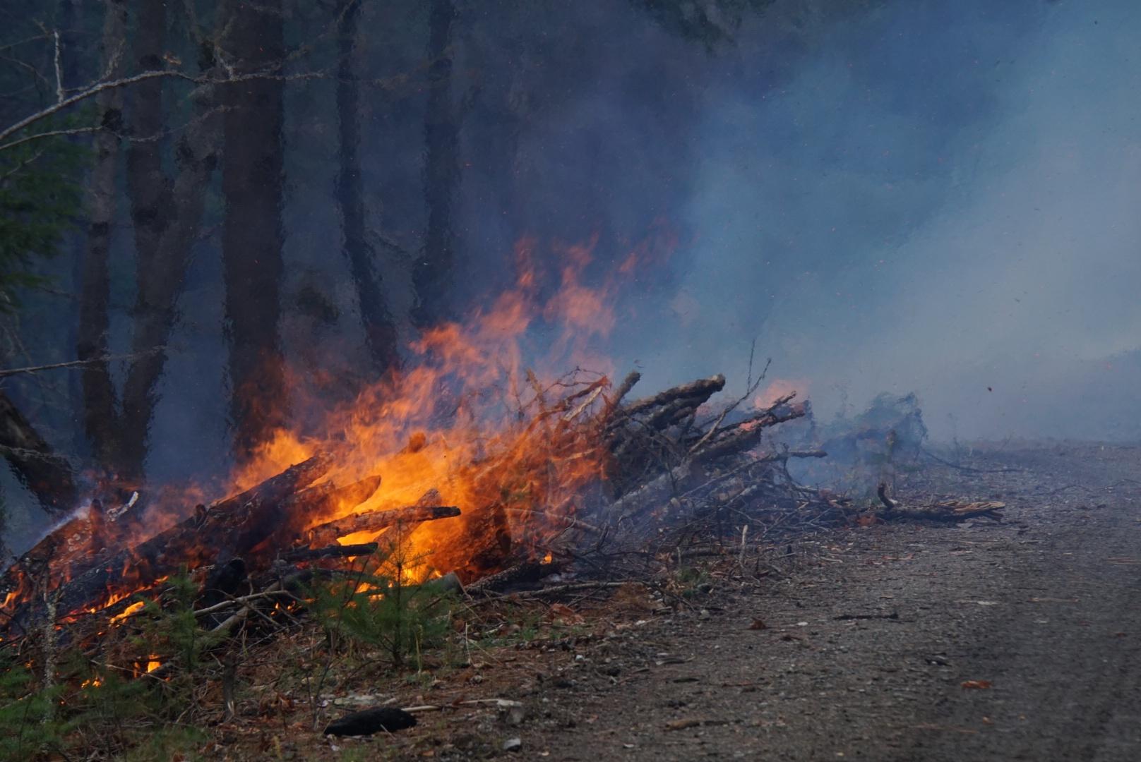 Handpile Burning