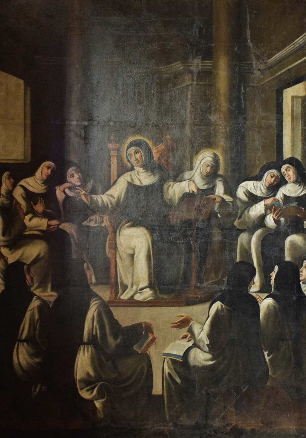 """Saint Paula Teaching Her Nuns"" by Andre Reinoso."