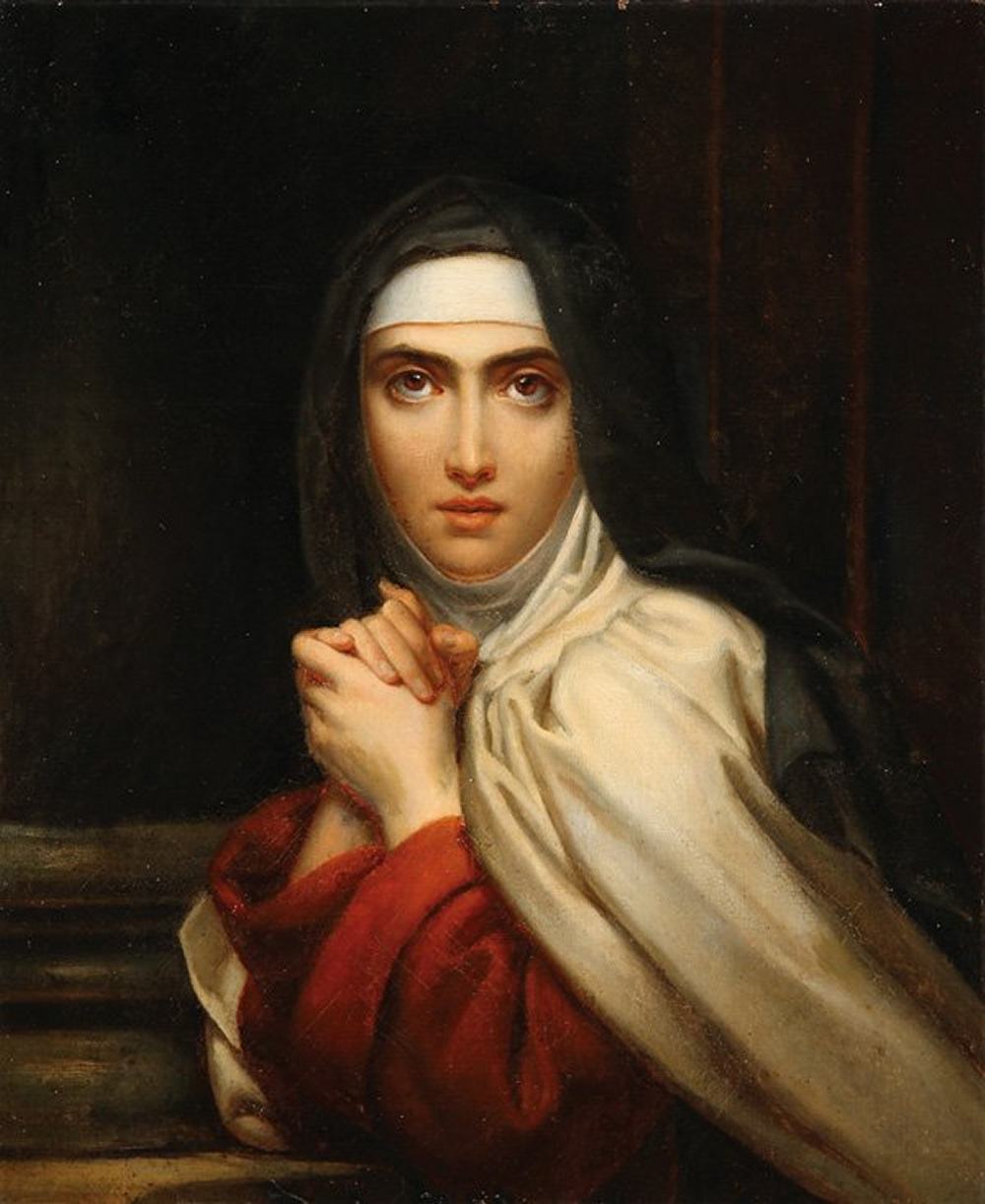"""Detail of St. Teresa"" 1827, by Francois Gerard"