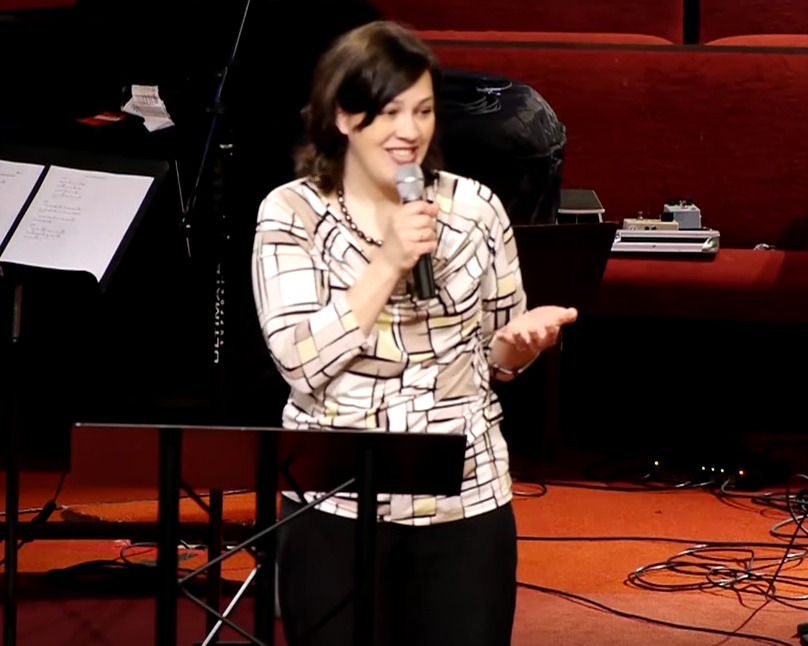 "Click the image above to listen to Christy's sermon ""Sheeps, Wolves, Serpents & Doves."""