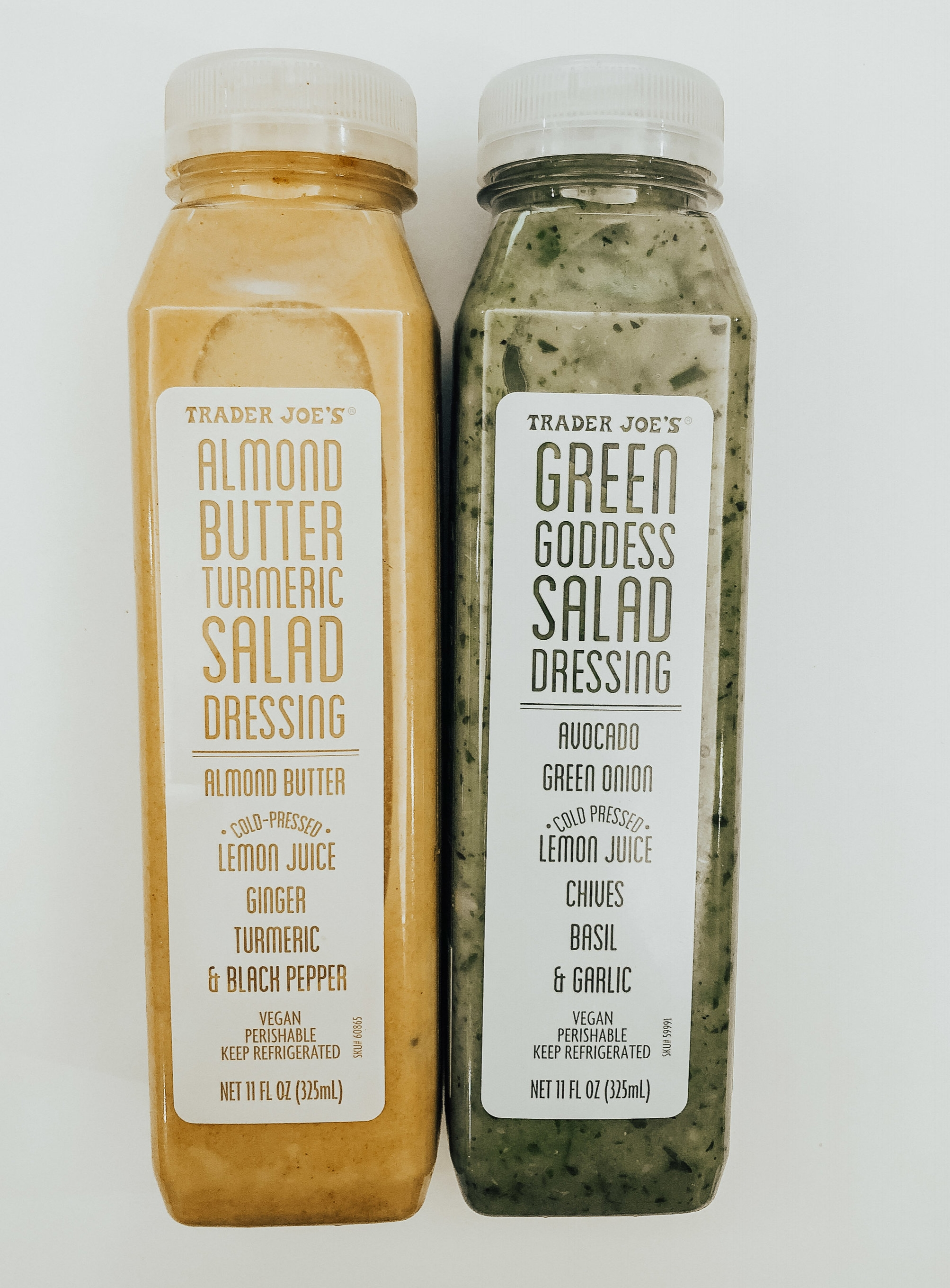 These dressings are so damn good. I'm a hyooge fan of the almond butter turmeric one.