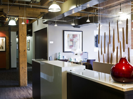king west reception area