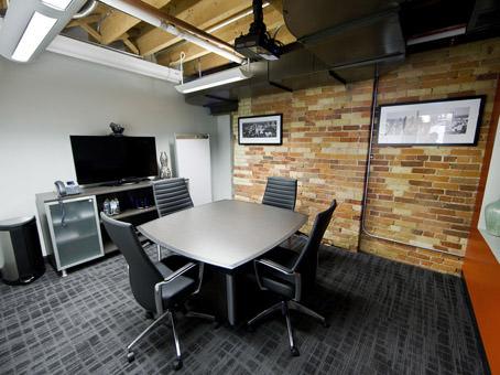 brick and beam office design