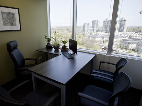 executive windowed office