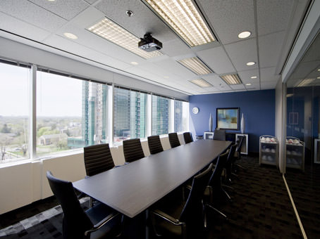 large bright boardroom