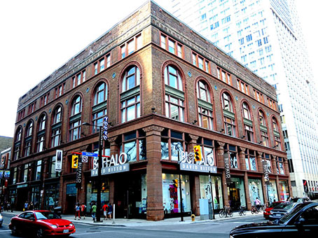 229 yonge street building exterior