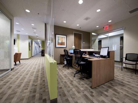 reception area and main hallway
