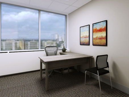 large office suite with lave view
