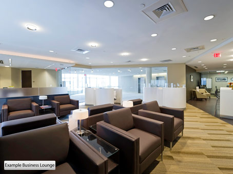 example business lounge