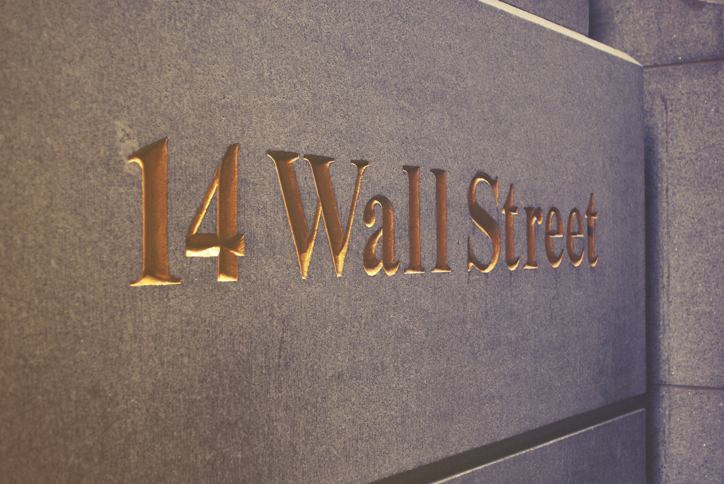 Wall Street New York Office Space