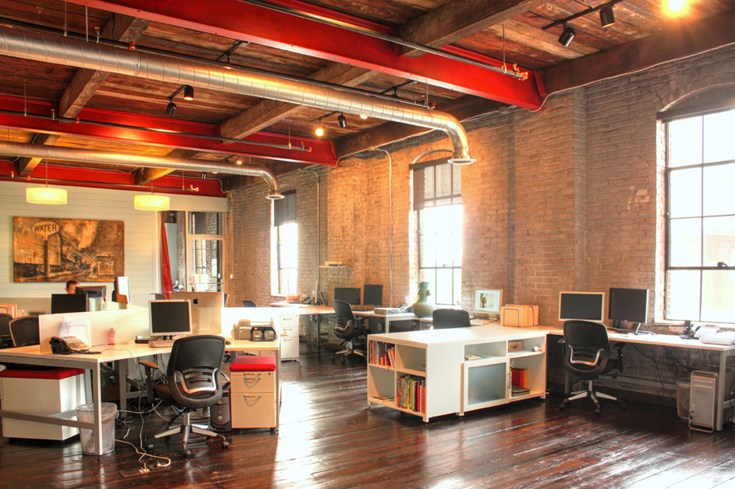 Virtual office space for startups